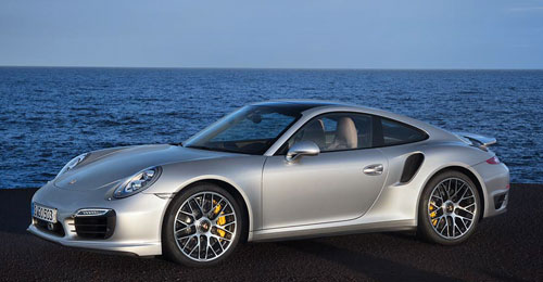 Porsche 911 Turbo (frontal)