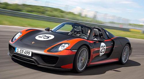 Porsche 918 Spyder (frontal)