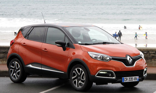 Renault Captur (frontal)