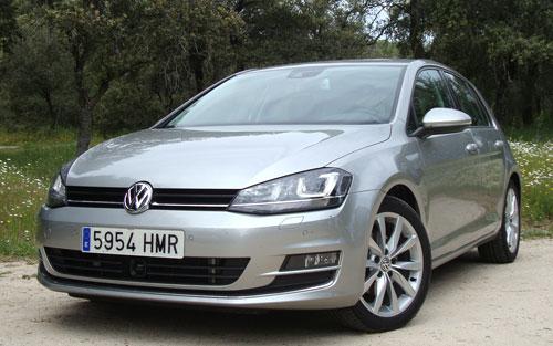 Volkswagen Golf (frontal)