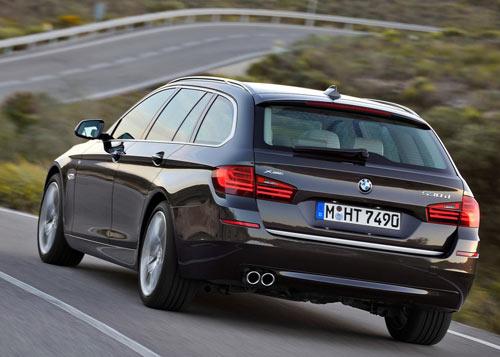 BMW Serie 5 (trasera)