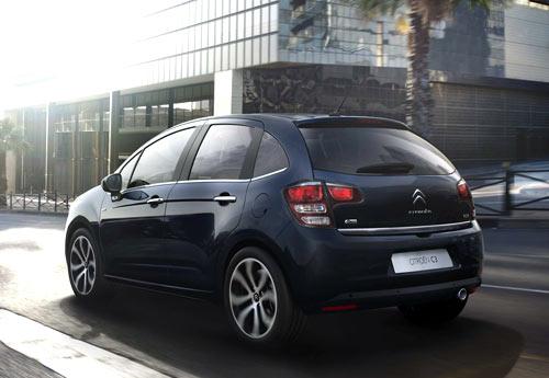 Citroën C3 (trasera)
