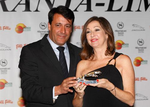 Jaguar y Ana Rosa Quintana (2)