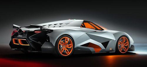 Lamborghini Egoista (trasera)