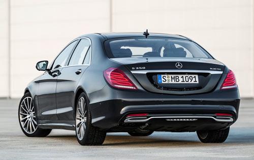 Mercedes-Benz Clase S (trasera))