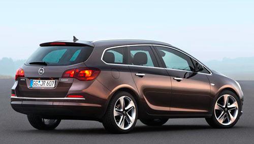 Opel Astra (trasera)