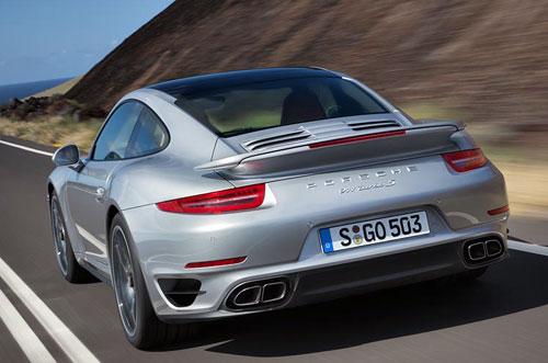 Porsche 911 Turbo (trasera)