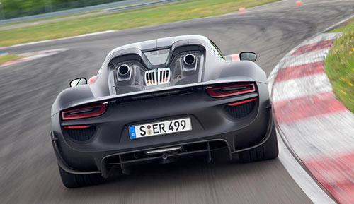 Porsche 918 Spyder (trasera)
