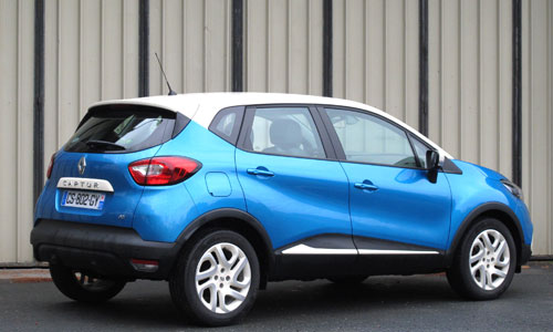 Renault Captur (trasera)