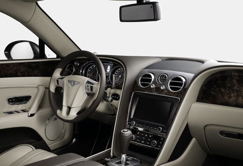 Bentley Flying Spur (interior)