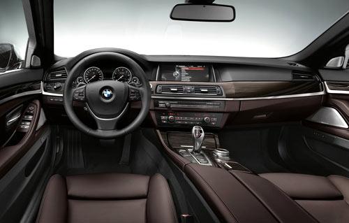 BMW Serie 5 (interior)