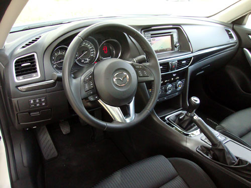 Mazda 6 (interior)