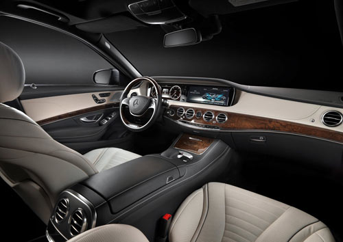 Mercedes-Benz Clase S (interior)