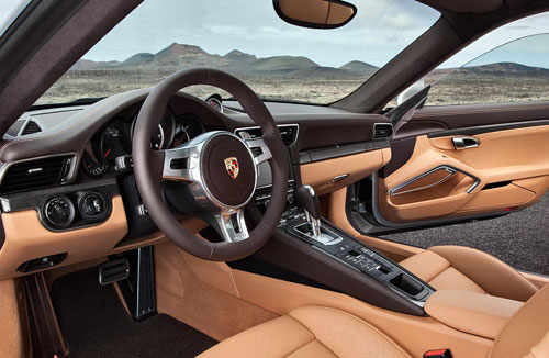 Porsche 911 Turbo (interior)