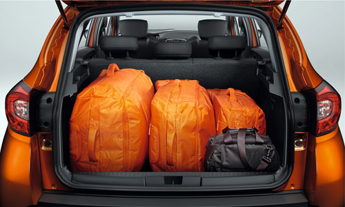Renault Captur (maletero)