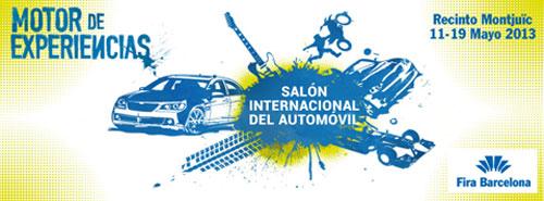 Cartel Salón del Automóvil de Barcelona 2013