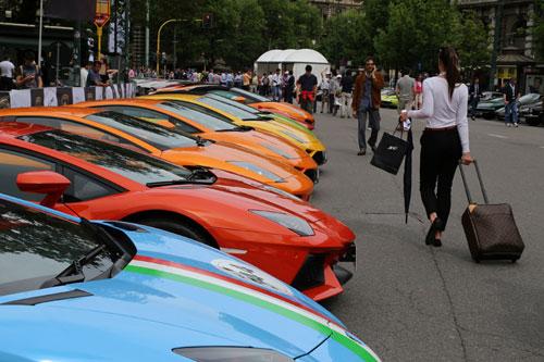 Concentración Lamborghini