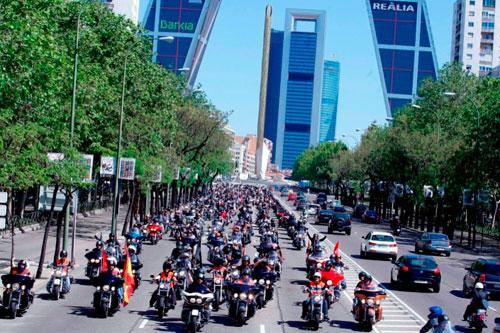 Harley-Davidson en Madrid