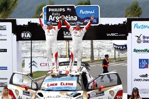 Rally Argentina Loeb