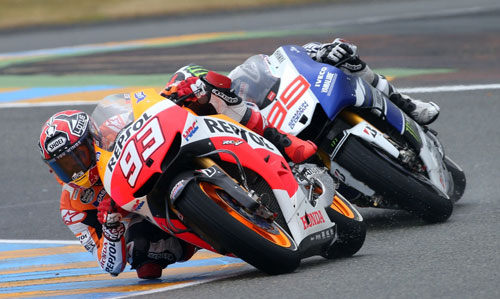 Marquez y Lorenzo MotoGP