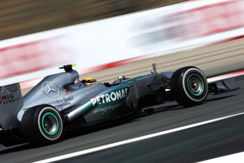 Nico Rosberg GP España F1
