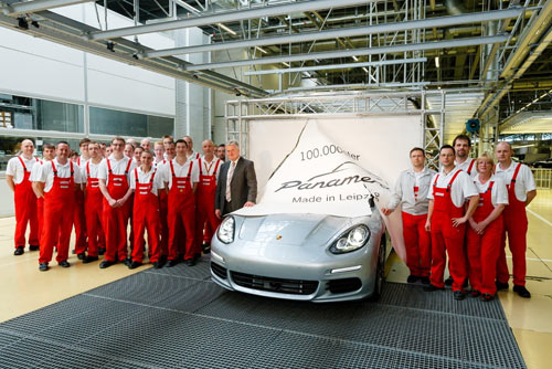 Porsche Panamera 100.000
