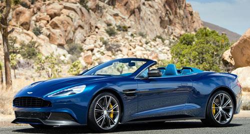 Aston Martin Vanquish Volante (frontal)