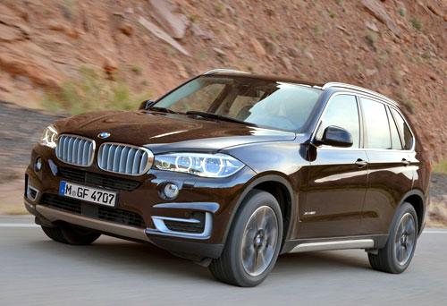 BMW X5 (frontal)