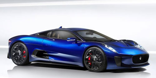 Jaguar C-X75 (frontal)