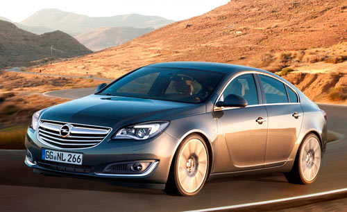 Opel Insignia (frontal)
