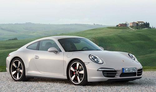 Porsche 911 50 aniversario (frontal)