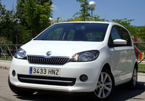 Skoda Citigo (frontal)