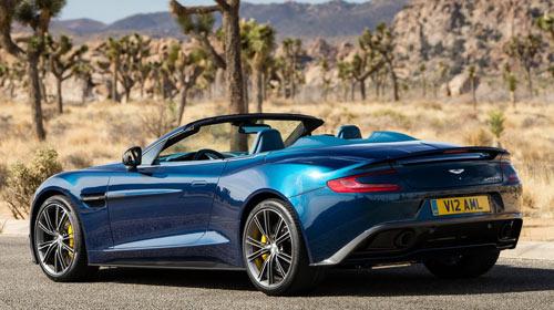 Aston Martin Vanquish Volante (trasera)
