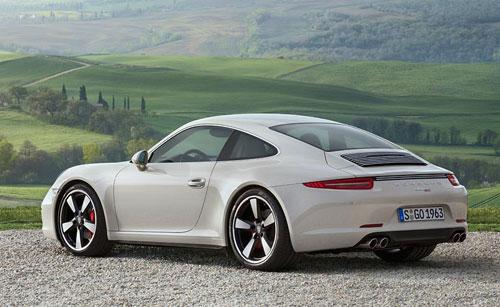 Porsche 911 50 aniversario (trasera)