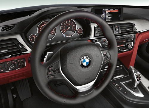 BMW Serie 4 Coupé (interior)