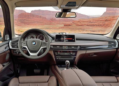 BMW X5 (interior)