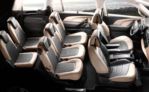 Citroën Grand C4 Picasso (interior)