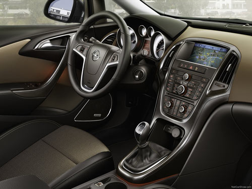 Opel Astra Sports Tourer (interior)
