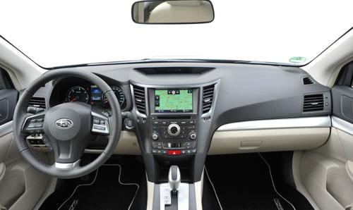 Subaru Outback (interior)