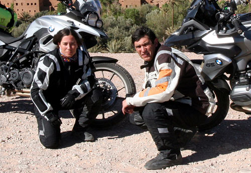 Alicia Sornosa y Gustavo