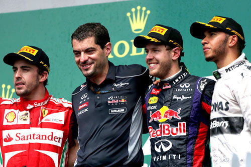 GP Canadá F1 Podio