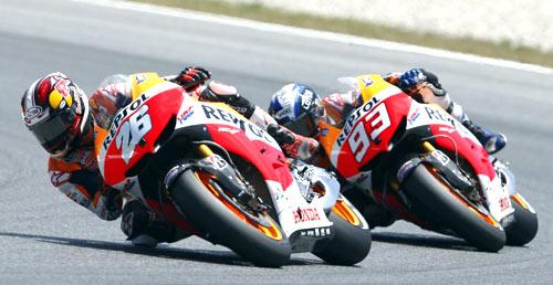 Pedrosa - Márquez - MotoGP