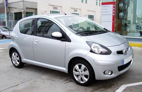 Toyota Aygo en Jugorsa