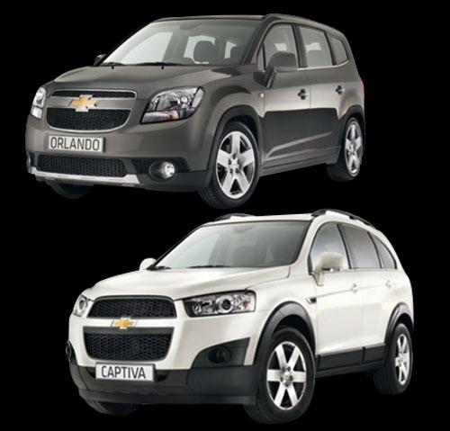 Chevrolet Orlando y Captiva en Viñarcar