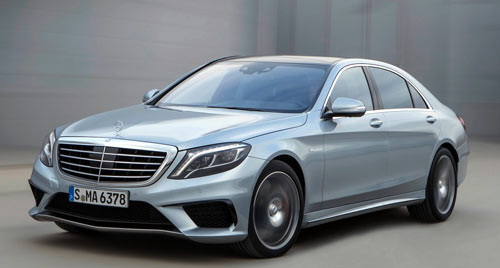 Mercedes-Benz S63 AMG (frontal)
