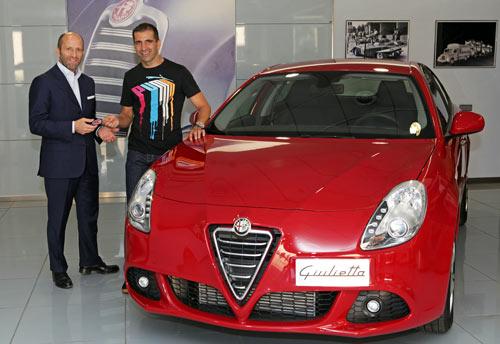 Marc Gené - Alfa Giulietta (1)