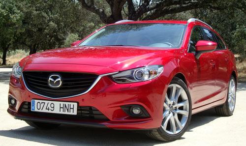 Mazda 6 Wagon (frontal)