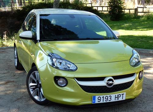 Opel Adam (frontal)