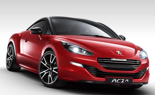 Peugeot RCZ R (frontal)