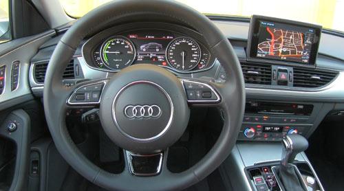 Audi A6 Hybrid (interior2)